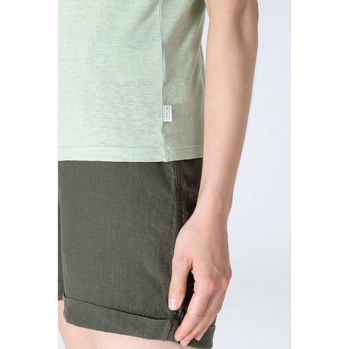 Short Sleeve Top - Frida - Ocean Green